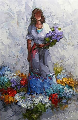 Saim Dursun - Buket - oil on canvas