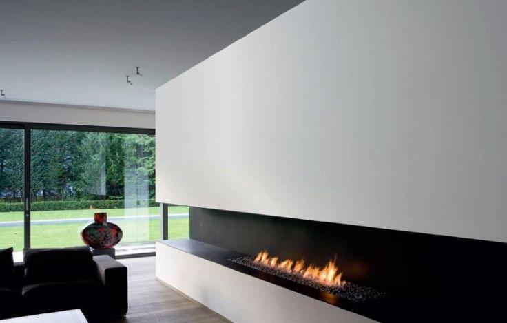 Slick cheminee moderne