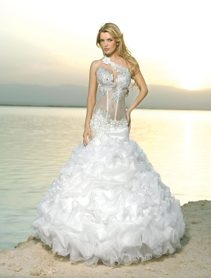 Lady Balm Skirt Wedding Evening Dressesbeach Style