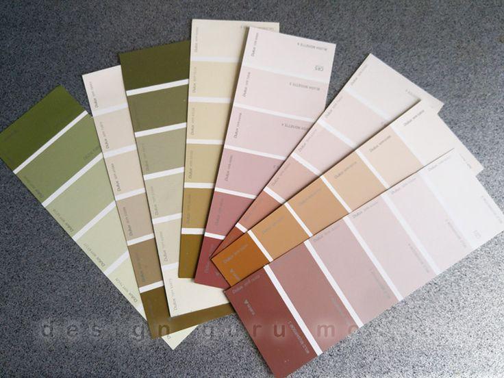 Las muestras de pintura - ventilador