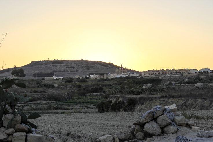 Sunset in Gozo