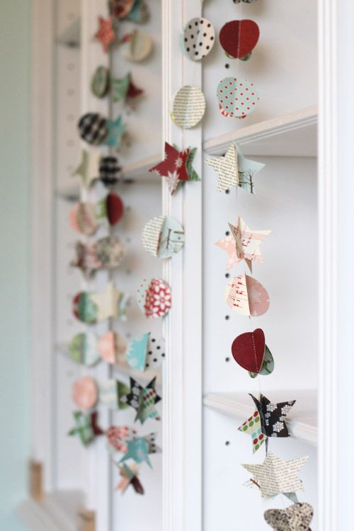cute paper garland