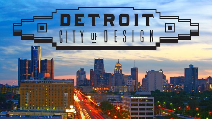 A great film presented by the Detroit Creative Corridor Center celebrating design throughout the city.