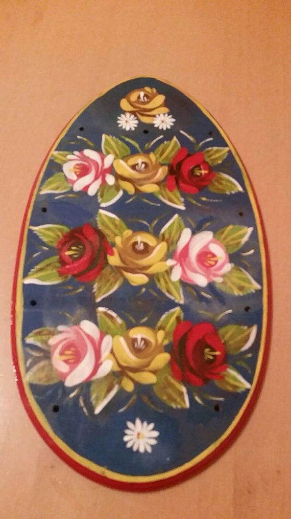 #canal art egg holder. by ukcanalart ,#canal boat,#barge art,#roses and castle