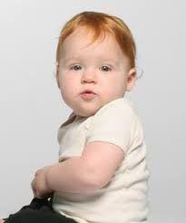 Para morirse con estas fotos de bebés pelirrojos. Si quieres ver más ideas de cómo peinar a tu bebé pelirrojo, puedes visitar nuestra web sobre embarazo.