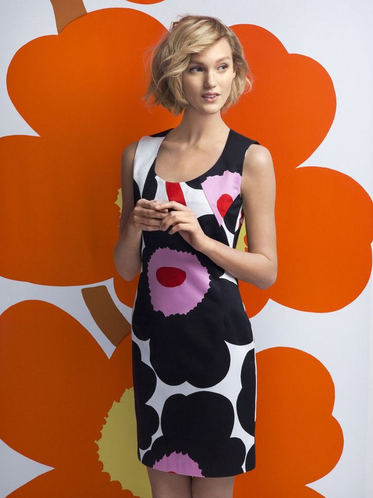 This month marks the 50th anniversary of Marimekko's most iconic floral pattern called Unikko. The Finnish company has launched a limited edition collection to celebrate the big, bold poppies.