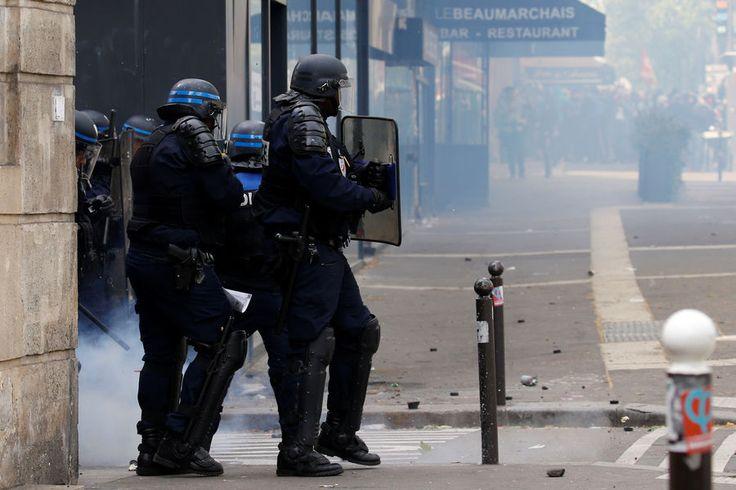 Manifestation 1er mai Paris 10