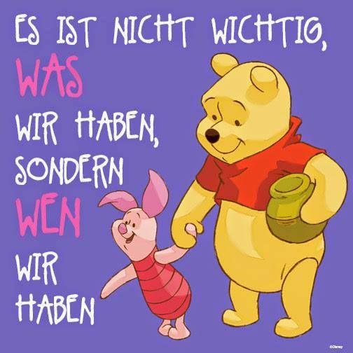 Die besten 25 winnie puh ideen auf pinterest winnie pooh zitate winnie puuh t towierungen - Disney zitate deutsch ...