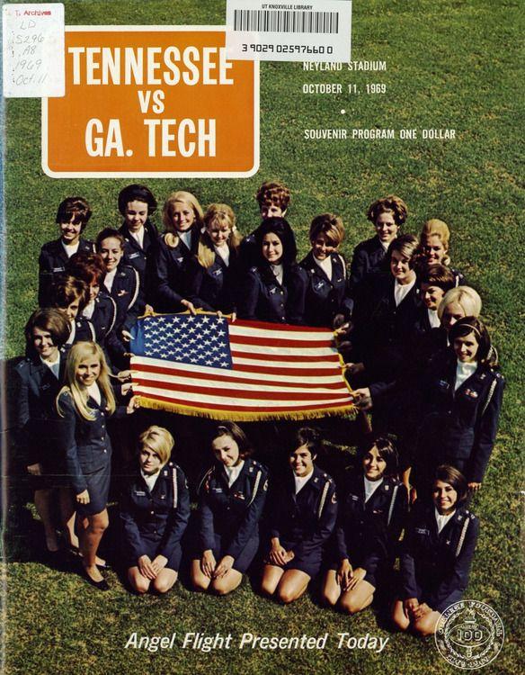 1969 Football Program - UT vs Georgia Tech  (Oct 11, 1969)