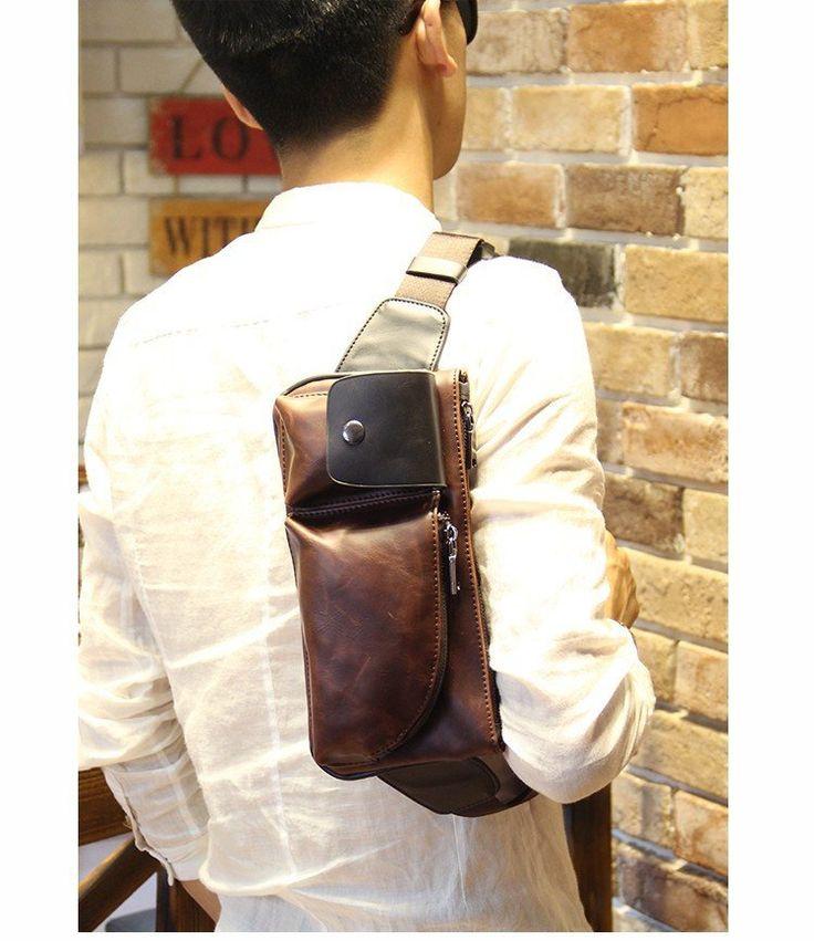 Men's Cross-Body Shoulder Bag