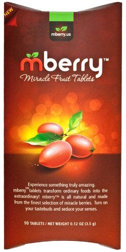 mberry Miracle Fruit Tablets: Amazon.com: Grocery & Gourmet Food