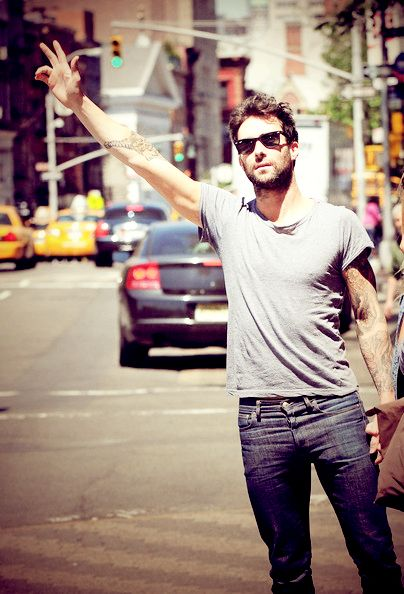 Adam Levine. Love me, please? This man makes smart girls dumb