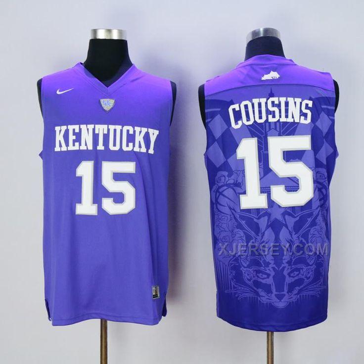 5953266fd czech buy kentucky wildcats 15 demarcus cousins blue college basketball  jersey from reliable kentucky wildcats 15