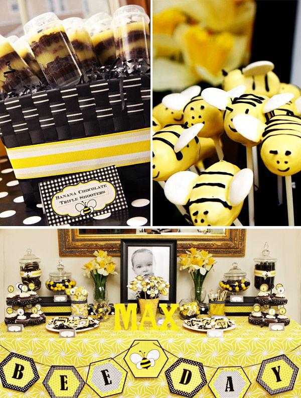 Bumble Bee Birthday Party-Next year theme...??
