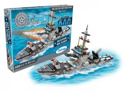 Aliança Justiça e Paz Defensor dos Mares - 388 Peças - Xalingo com as melhores condições você encontra no Magazine Gatapreta. Confira!