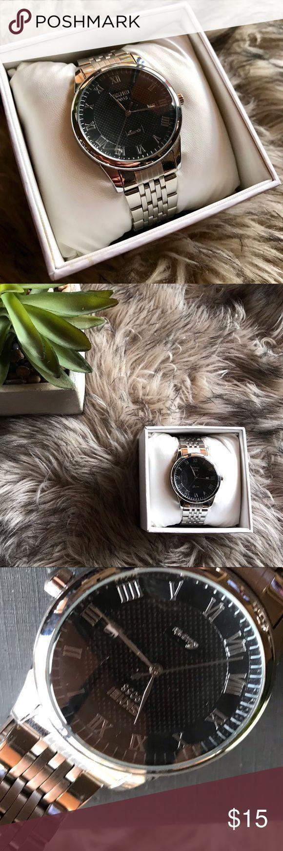 Herrenmode Uhr Diese Uhr ist eine Herrenmode Uhr. Wasserabweisend und fleckig – – Frauen Mode