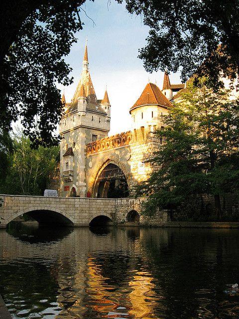 Budapest, Castle Vajdahunyad by PhotoScenics, via Flickr