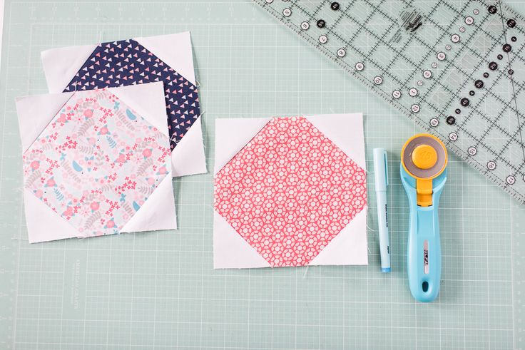 Craftsy.com | Step-by-step tutorial for Snowball Block and 6 ways to use the Snowball Block in your quilts