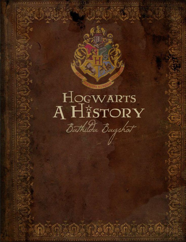 Harry Potter Book Art Hogwarts Hogwarts A Hist...