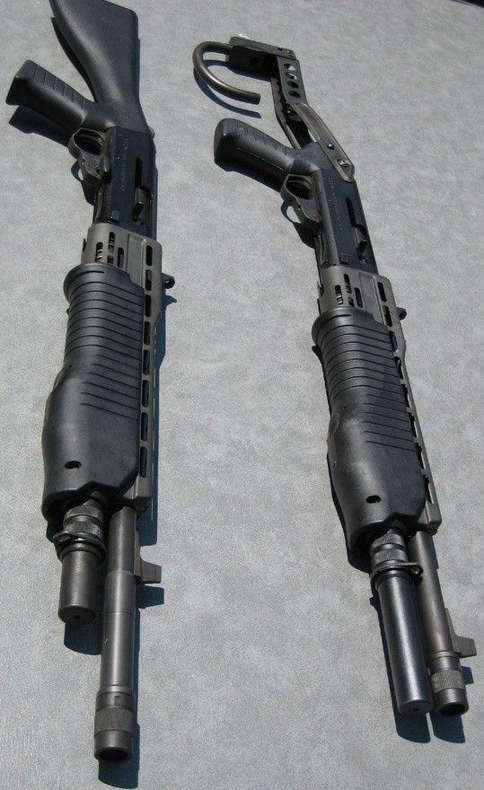SPAS 12 semi-auto/pump tactical shotgun...: