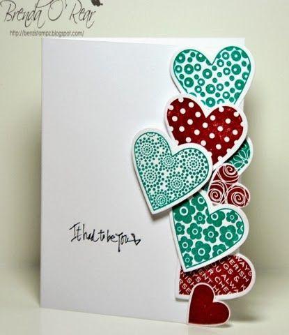 Benzi Stampz: Edged Hearts