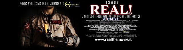 """Le maratone di un bradipo cinefilo: Segnalazione di """" Real!"""" a Ghostbusters fan movie"""