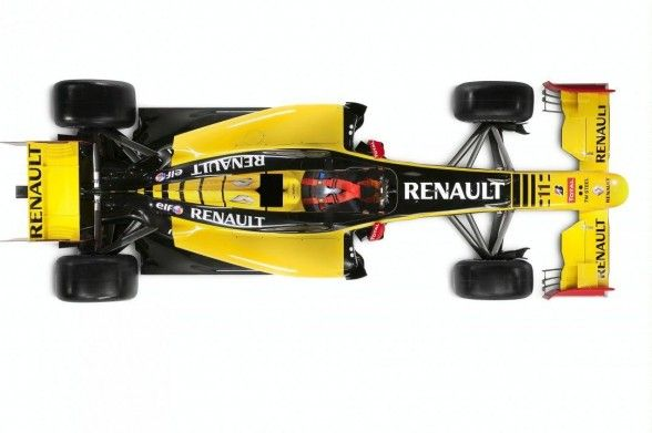 Renault R30 2010 Top View