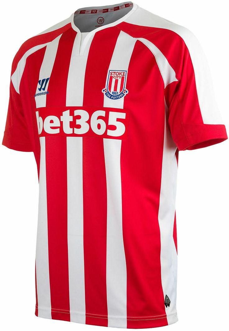 Stoke City FC (England) - 2014/2015 Warrior Home Shirt