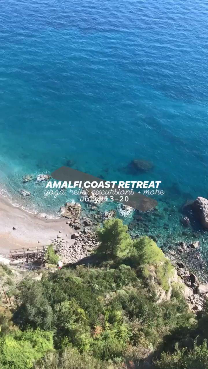 Amalfi Coast Yoga And Wellness Retreat Video Amalfi Coast Amalfi Wellness Retreats