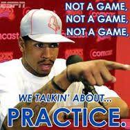 Allen Iverson practice lol