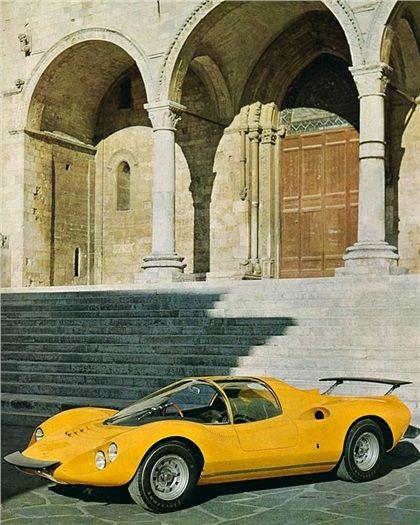 Ferrari Dino 206 Competizione (Pininfarina), 1967
