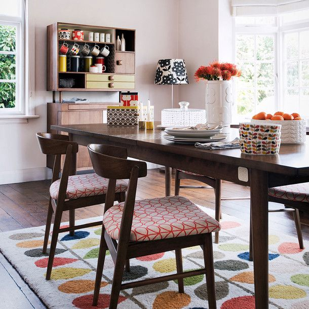 Home sweet home: Orla Keily dining room chairs