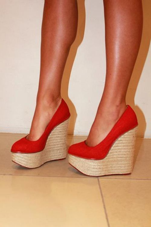 wedges shoes 6 Cant stop staring at your wedges (22 photos)