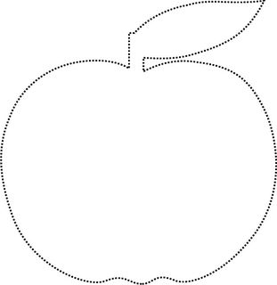 Template for an Apple