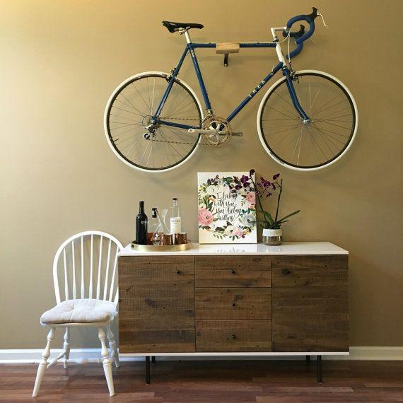 Olmo bicicleta mínimo portabicicletas pared por PlayHausDesign