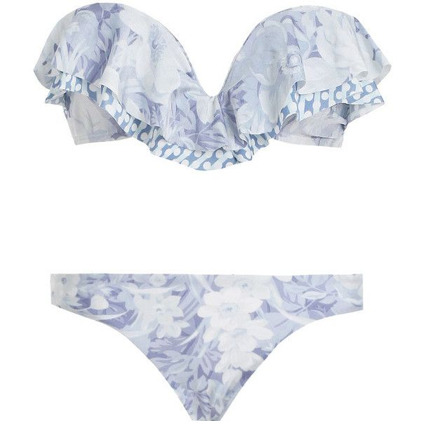 Zimmermann Confetti Layered Frill Bikini and other apparel, accessories and trends. Browse and shop related looks.