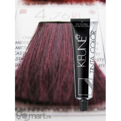 Keune Tinta Color Medium Infinty Violet Red Brown Ri 4 76 Red To Blonde Dark Red Color