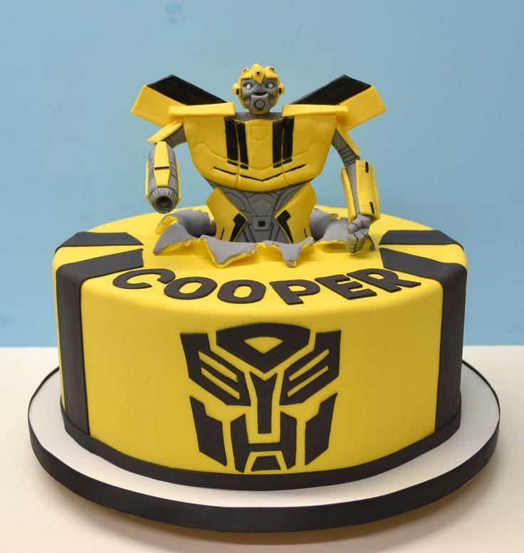 Best 14 Cake Ideas Images On Pinterest Transformer Cake