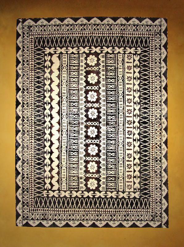 Fijian Masi (Tapa Cloths)