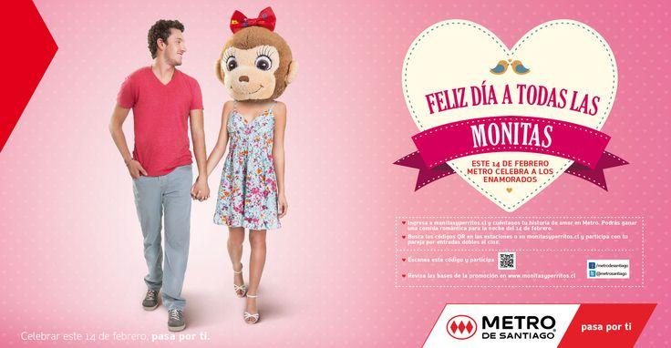 Metro: Dia de los enamorados Monita