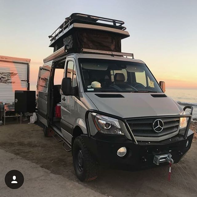 exclusive_outfitters Sprinter van build with Aluminess gear