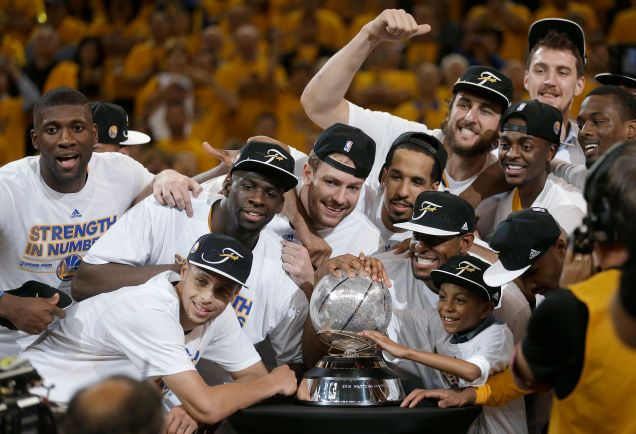 The Golden State Warriors Advance To The NBA Finals