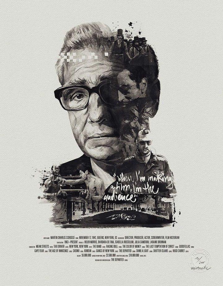 Stellavie cria série que, só para começar, tem Alfred Hitchcock, David Lynch e Martin Scorsese