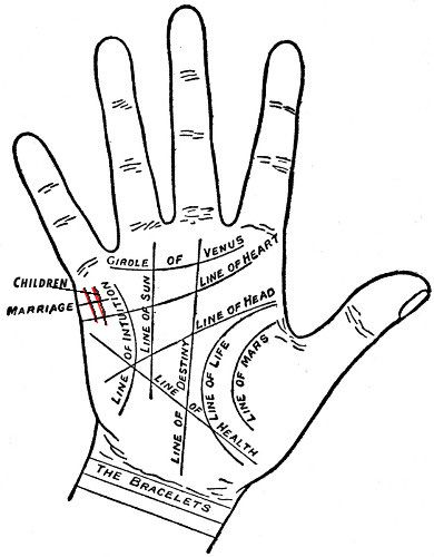 A Look at Palm Reading - How many Children Do you have indicated By Children Lines, What Does Children Line reveals, Indian Palmistry - The art of palm reading - Know About Your ChildrenA Look at Palm Reading
