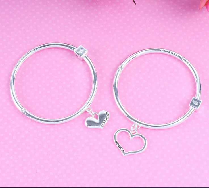 Love your mom? Get a Mother Daughter bracelet bangle set at 60% OFF using the code MOM. Sale ends June 30th, 2015!