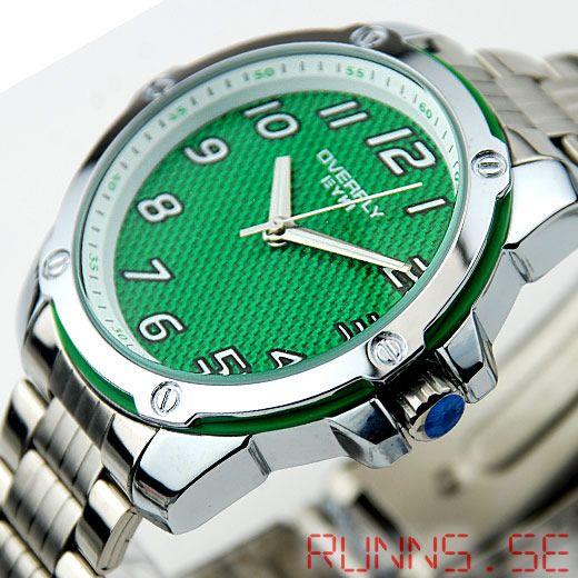 Armbandsur Eyki - Overfly Carbon (grön) #eyki #kimio #sportklocka #sportklockor #armbandsur #klocka #klockor #herrklocka #herrklockor #runns #watch #watches #nato #natoband #overfly