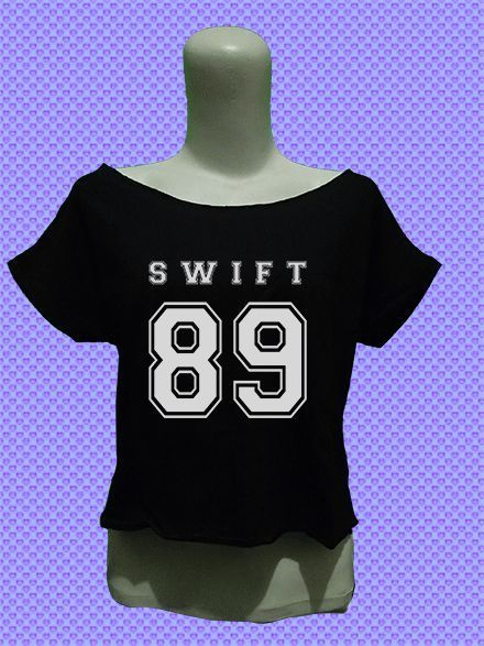 taylor swift 89 crop top tee shirt womens women fashion outfit of the day girls sexy #Unbranded #CropTop #Casual
