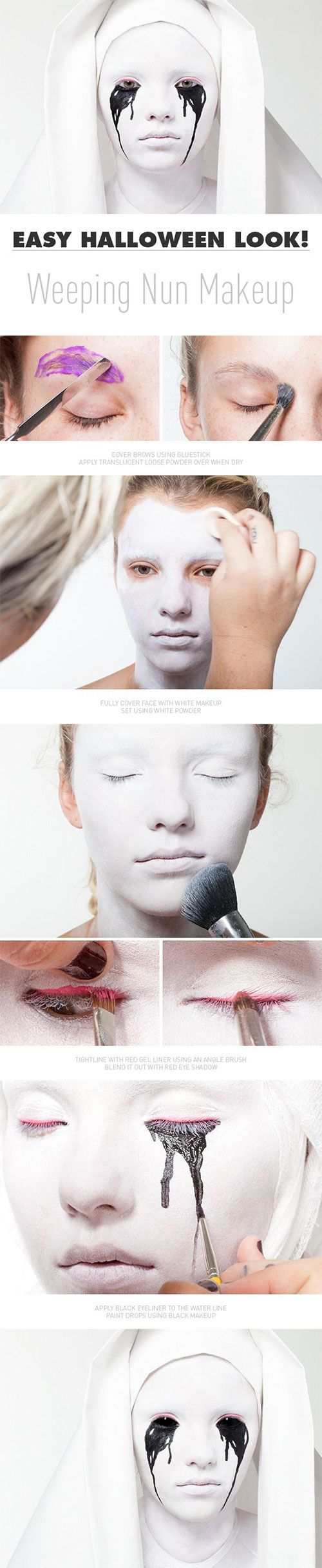 15-Step-By-Step-Halloween-Make-Up-Tutorials-For-Beginners-Learners-2014-13