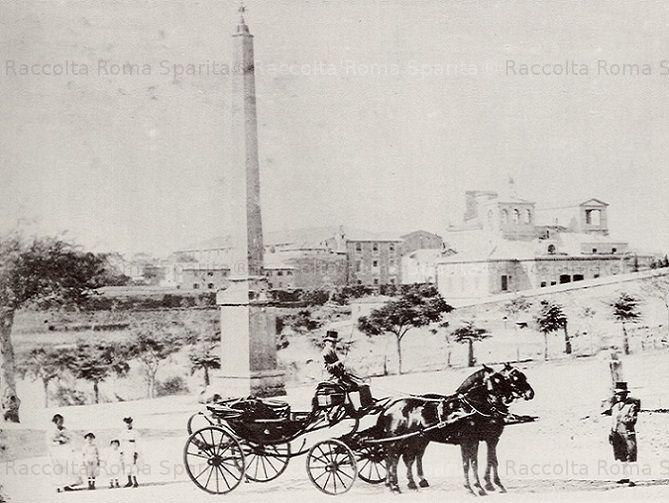 Piazza Esquilino e Villa Massimo Anno: 1871
