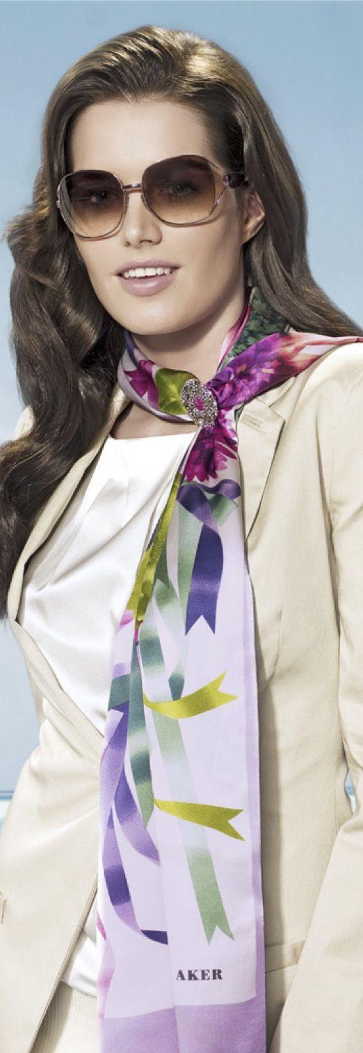 Aker Eşarp / Scarf - 2010 S/S #aker #scarf #esarp #hijab #fashion #silk #scarves #moda #hijab #tesettur #model #mode #style #pattern #babushka #kerchief #shawl #wrapper #trend #aker #akeresarp #akerscarf